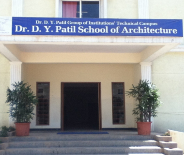 DR.DY PATIL SCOOL OF ARCHITECTURE [CHARHOLI]