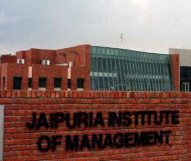 JAIPURIA INSTITUTE OF MANAGEMENT-{NOIDA]