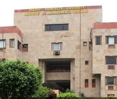 BHARTI VIDYAPEETH INSTITUTE OF MGMT. & RESEARCH